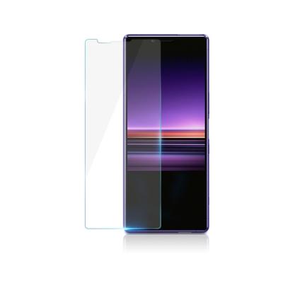 【鐵鈽釤鋼化膜】SONY X / XP高清透玻璃保護貼