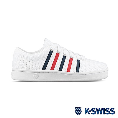 K-Swiss Classic 88 Knit休閒運動鞋-女-白/藍/紅