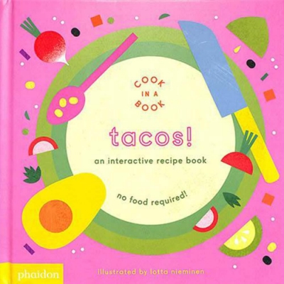 Tacos! An Interactive Recipe Book 互動式食譜操作書
