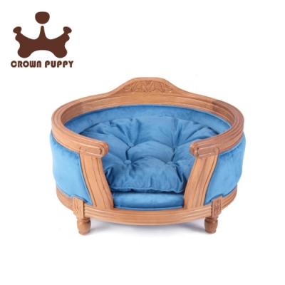 【CROWN PUPPY】手工實木寵物床