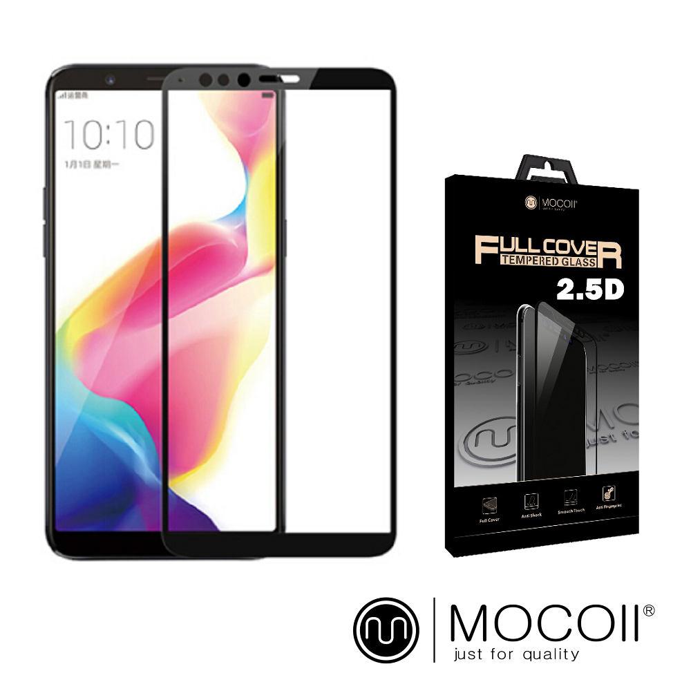 Mocoll - 2.5D 9H 鋼化玻璃膜 - Oppo R11s+ 專用 ( 黑色 )