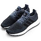 ADIDAS SWIFT RUN 男慢跑鞋 CQ2120 灰藍