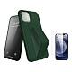 [買手機殼送保護貼] iPhone 12 支架 手機殼 -松針綠 贈 手機 保護貼-松針綠*1/贈透明貼*1 product thumbnail 1