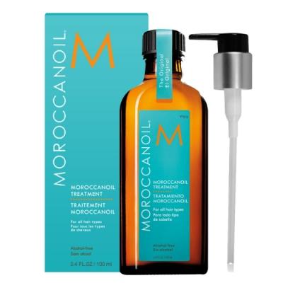 MOROCCANOIL 摩洛哥優油 100ml 護髮油-(含壓頭)