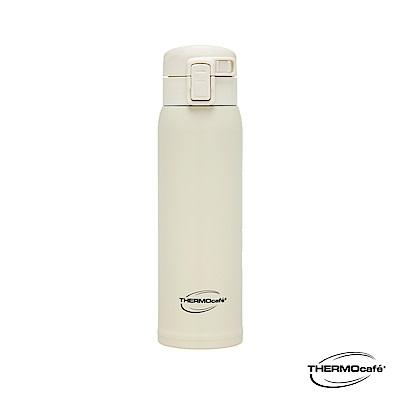 THERMOcafe凱菲 不鏽鋼真空彈蓋保溫杯0.48L(TCVS-480-WH)