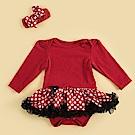 日安朵朵 女嬰雪紡蓬蓬裙連身衣 –俏皮M小姐(長袖)