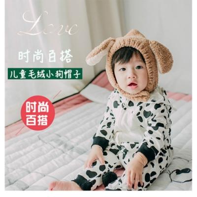Baby童衣 初生嬰兒帽子 男女寶寶新生兒保暖 針織冬季套頭帽 88233