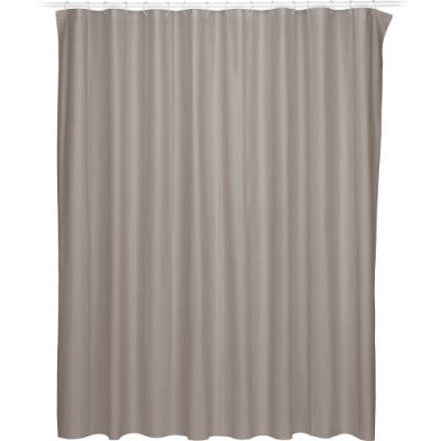 《KELA》Largo防水浴簾(棕180cm)