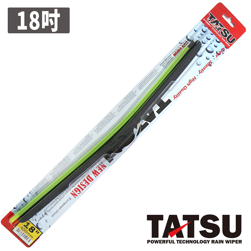 TATSU 特仕軟骨雨刷 18吋