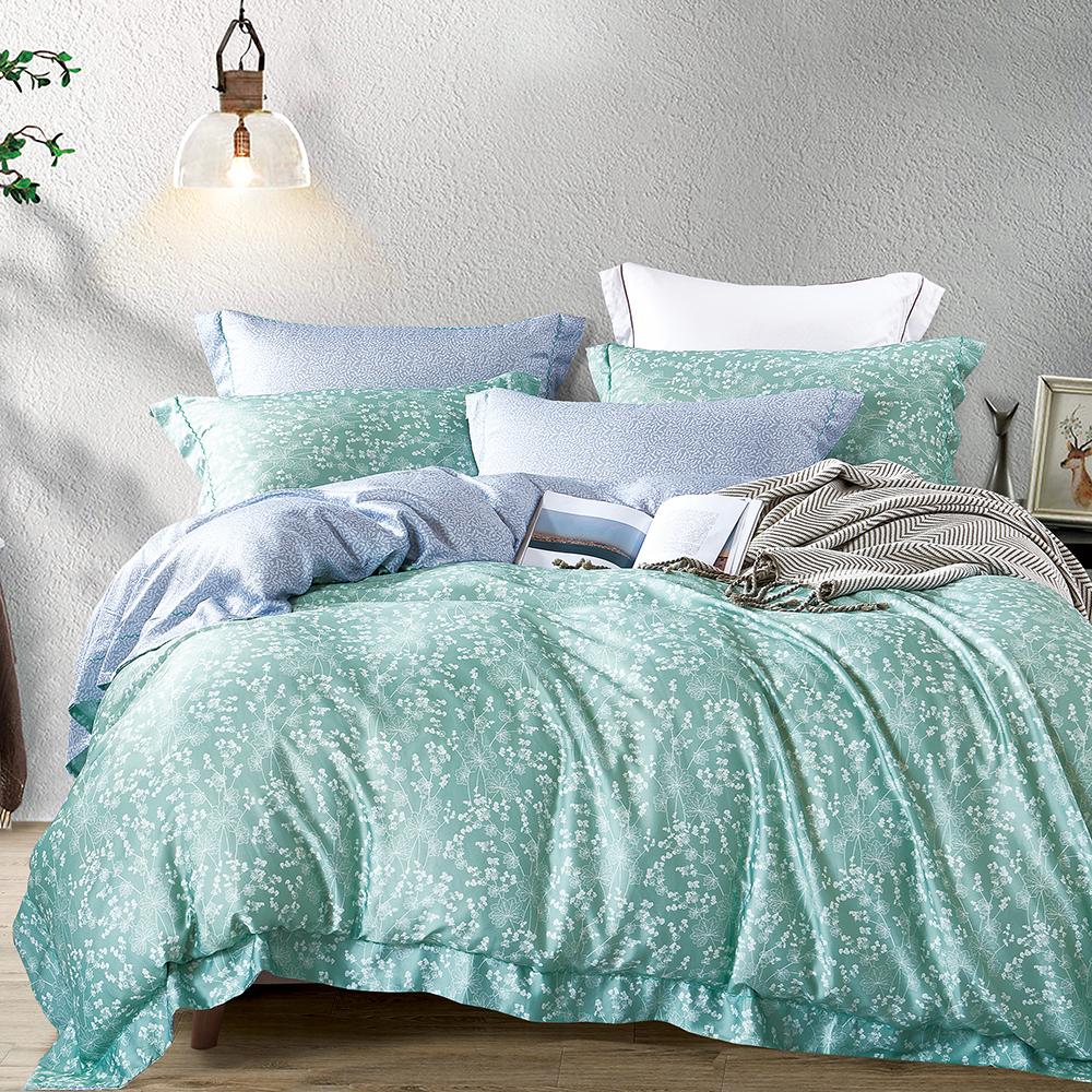 Ania Casa 小森林 天絲 100% TENCEL 單人鋪棉兩用被套床包三件組