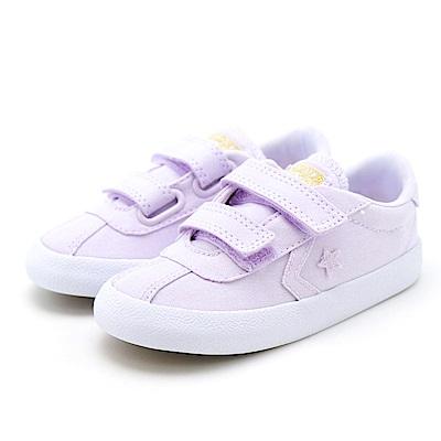 CONVERSE-幼童鞋760053C-淺葡萄色