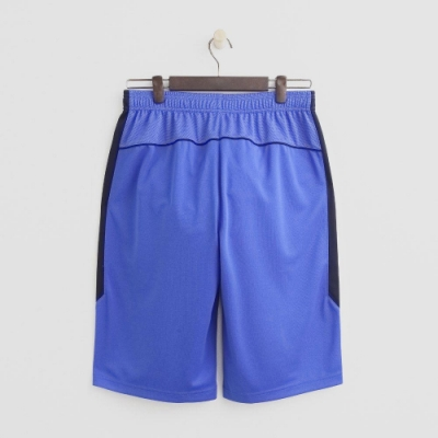 Hang Ten - 男裝 - ThermoContro-純色運動機能短褲 - 藍