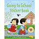 Going To School Sticker Book 故事貼紙書:上學第一天 product thumbnail 1