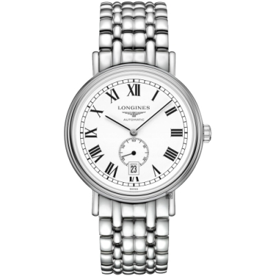 LONGINES浪琴 Presence 小秒針機械錶-40mm L49054116