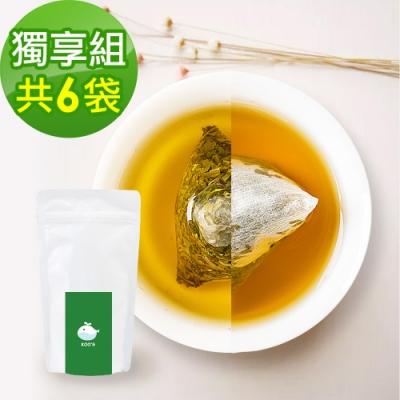 KOOS-香韻桂花烏龍茶+清韻金萱烏龍茶-獨享組各3袋(10包入)