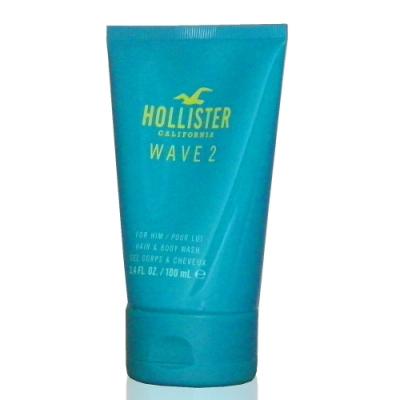 Hollister California Wave2 加州陽光男性淡香水沐浴精 100ml