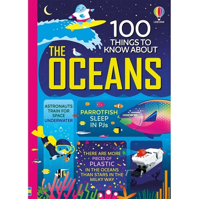 100 Things To Know About The Oceans 海洋的100個知識書