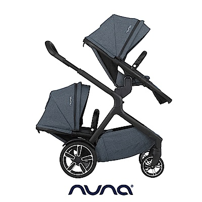 荷蘭nuna-Demi grow手推車(灰藍色)