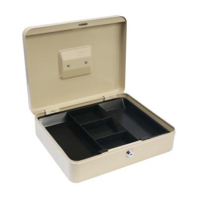 TRENY 鑰匙現金箱-30L(米白)-大