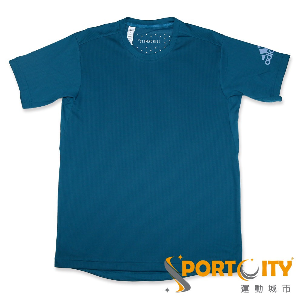 ADIDAS 男短袖上衣 CE0819-藍綠