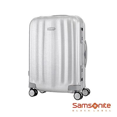 Samsonite新秀麗 20吋Lite-Cube高質感耐衝擊Curv鋁框登機箱(鋁銀)
