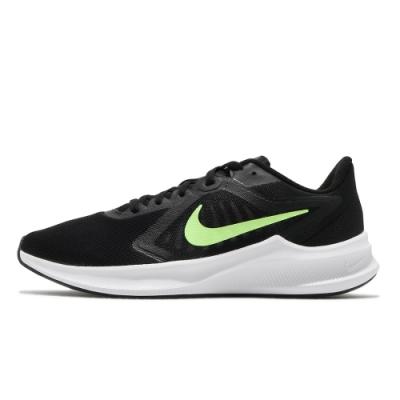 NIKE  訓練  緩震 慢跑  運動鞋 男鞋 黑 CI9981009 DOWNSHIFTER 10