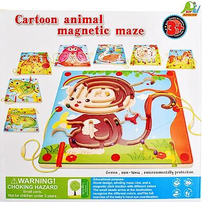 Playful Toys 頑玩具 8款木製磁鐵迷宮