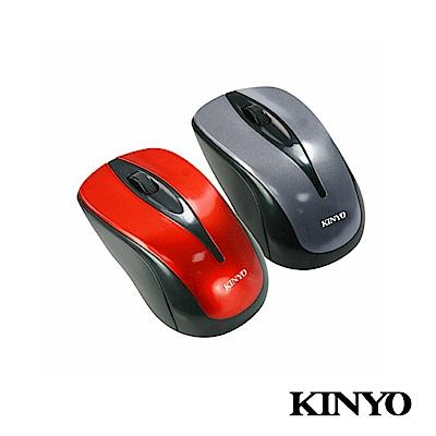 KINYO藍光USB靜音有線滑鼠LKM505