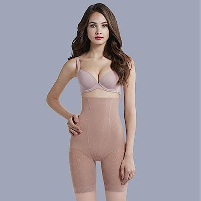 曼黛瑪璉 魔幻美型重機能-超高腰長管無痕束褲(內斂膚)