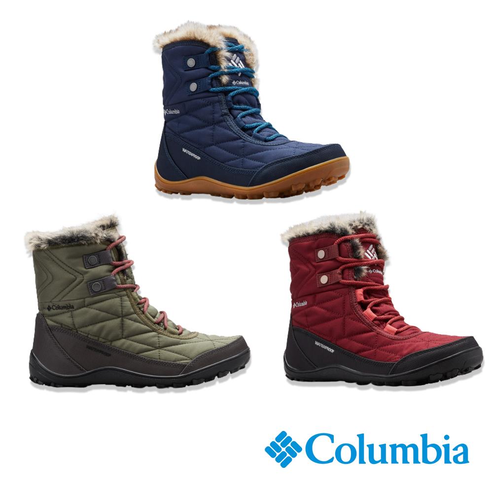 Columbia 哥倫比亞 女款- Omni TECH 防水鋁點保暖雪靴 UBL59610