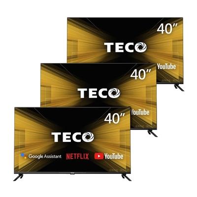 【三台超值組】TECO東元 40吋 HDR Google認證Android9.0連網液晶顯示器 TL40A2TRE