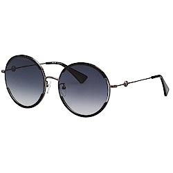 VEDI VERO 圓形 太陽眼鏡 (黑色)BLK