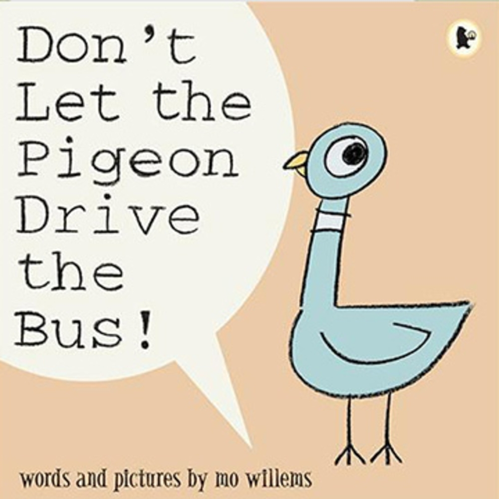 Don't Let The Pigeon Drive The Bus! 平裝繪本