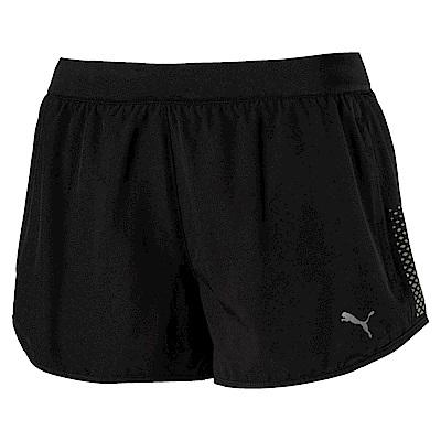 PUMA-女性慢跑系列NightCat短褲-黑色-歐規