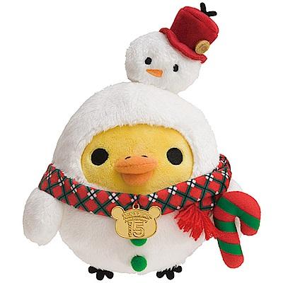 拉拉熊2018聖誕節店舖限定版毛絨公仔。小雞San-X