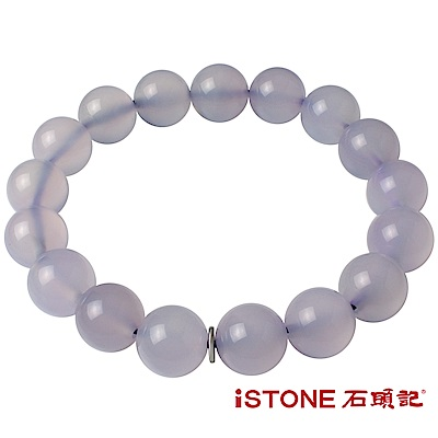 石頭記 紫玉髓手鍊-品牌經典-12mm