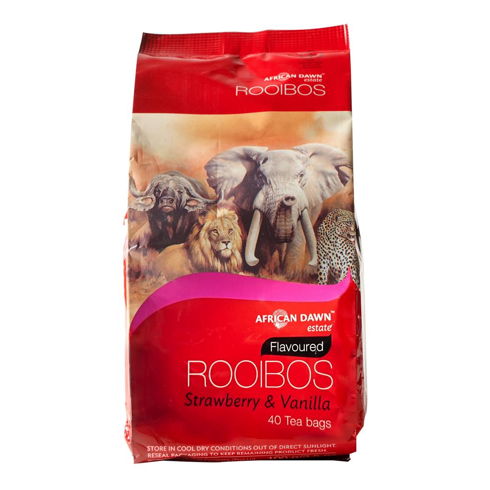 非洲晨曦 南非國寶茶-草莓香草(40包/袋)