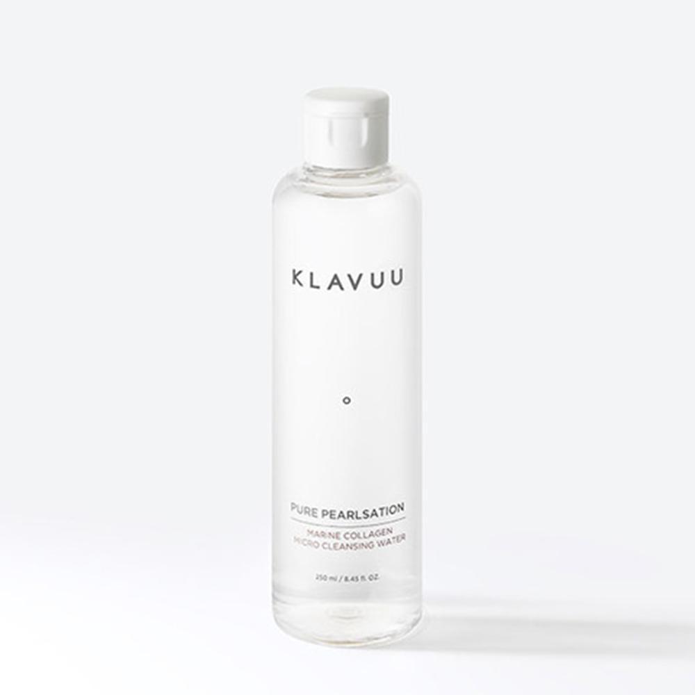 【KLAVUU克拉優】 深海珍珠修復膠原微粒子卸妝水250ml