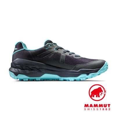 【Mammut 長毛象】Sertig II Low GTX Women GTX低筒健行鞋 黑色/冰冷霜 女款 #3030-04290