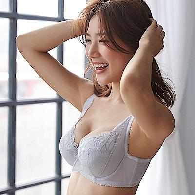 蕾黛絲-美弧包覆小妹大 F罩杯內衣(雪亮銀白)