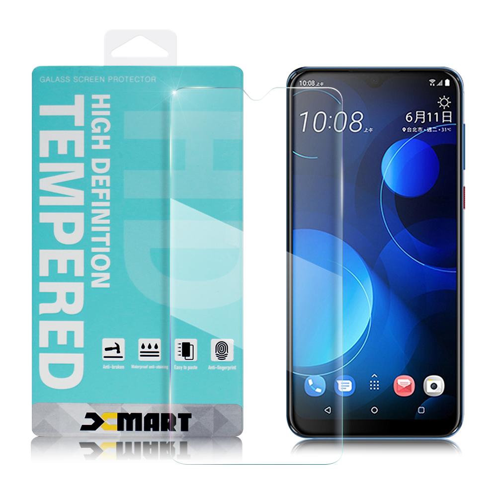 Xmart for HTC Desire 19+  薄型 9H 玻璃保護貼-非滿版
