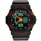 SKMEI 時刻美0955-雙機芯多功能防震防水電子錶 (2色任選)