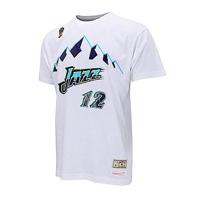 M&N NBA 球員號碼純棉T恤 爵士隊 John Stockton