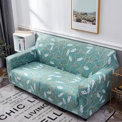 【歐卓拉】時穗錦年彈性沙發套-1人座