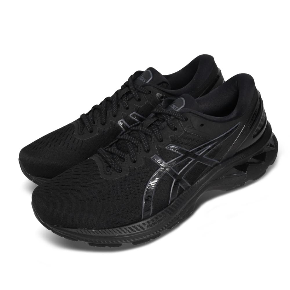 Asics 慢跑鞋 Gel-Kayano 27 4E 男鞋 亞瑟士 超寬楦 路跑 輕量 高支稱 亞瑟膠 黑 1011A833002