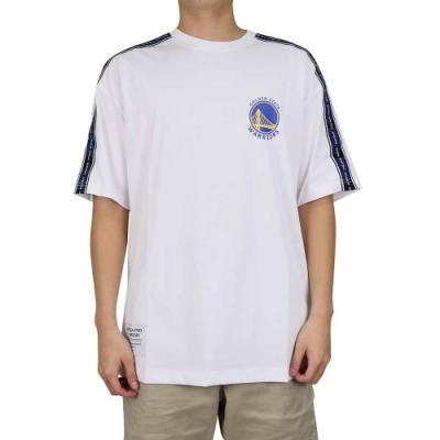 NBA Style C S T-SHIRTS 肩線織帶 短袖上衣 勇士隊