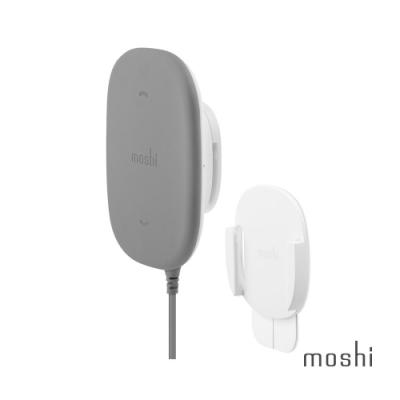 Moshi SnapTo 磁吸無線充電座附磁吸固定基座組