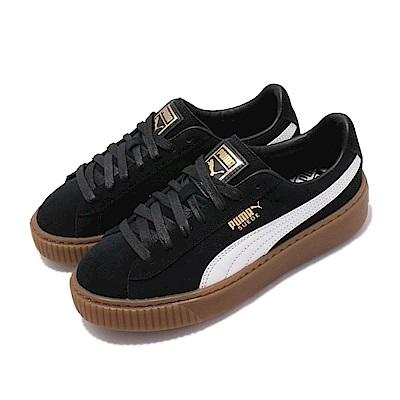 Puma 休閒鞋 Suede Platform 運動 女鞋