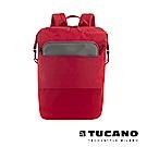 TUCANO MODO 15吋縱橫當代商務後背包(附防雨衣)-紅