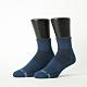 Footer除臭襪-單色運動逆氣流氣墊襪加大款-六雙入(淺灰*2+黑*2+藍*2) product thumbnail 1
